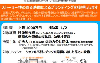 補助金最大1,000万円!企業のブランディングムービーが制作できる補助金とは?!